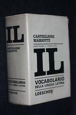 VOCABOLARIO DIZIONARIO LATINO ITALIANO IL CASTIGLIONI MARIOTTI - F13 - LV