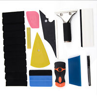 8 in 1 Car Window Tint Tools Kit for Vinyl Film Tinting Squeegee Multicolor NEW