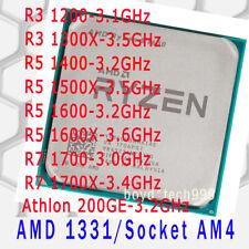 Amd Cpu Ryzen 3 1200 1300X 5 1400 1500X 1600 1600X 7 1700 1700X 200Ge Socket Am4