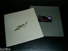 1991 Chevrolet Corvette ZR-1 ONLY sales brochure PRESTIGE BOOK with case