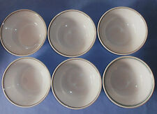 6  CORELLE ASSORTED PATTERN  SOUP CEREAL BOWLS BOWL
