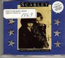 (BN751) Scarlet, I Wanna Be Free - 1995 CD
