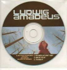 (832K) Ludwig Amadeus, You Know Just What I Want- DJ CD