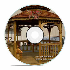 Basic Design Gazebo Plans, 12ft Double Roof Octagon Gazebo Plans, DIY Guides