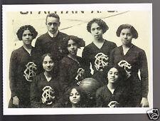 1910-1911 Spartan Athletic Club Women's Basketball Team Modern Photo Postcard