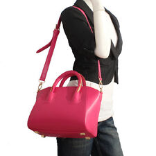 Rose Red Italian Leather Handbags, Purse Hobo Bag, Satchel, Tote, Clutch