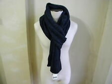 DOLCE & GABBANA D&G COOL WARM GREY BLACK LONG THICK KNIT SCARF SCIARPA IN MAGLIA