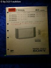 Sony Service Manual KV 28WS3D /28WS3U Color TV (#3694)