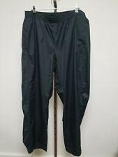 Columbia Titanium Omni-Tech Black Nylon Waterproof Breathable Pants  XL