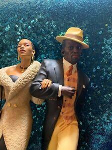 "Thomas Blackshear Ebony Vision Figurine""STEPPIN OUT""Limited Edition 804619"