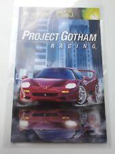 Project Gotham Racing - Manual PAL - Original Xbox