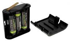 4,5V Flachbatterie 3LR6 Adapter Batteriebox Wechselgehäuse inkl. 3x AA Batterie
