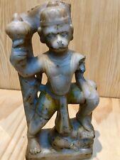 ART INDIEN ANCIEN HANUMĀN DIEU SINGE / ANTIQUE INDIAN STATUE OF GOD HANUMĀN