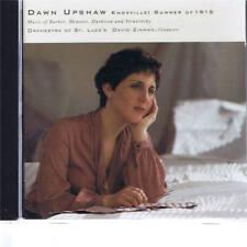 CD ELEKTRA NONESUCH DAWN UPSHAW - BARBER, MENOTTI, HARBISON, STRAVINSKY
