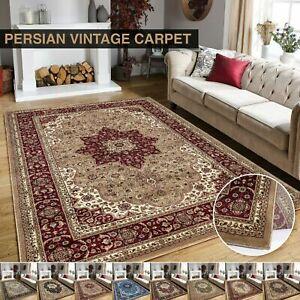New Luxury Rome Vintage Traditional Rug Small Medium Large Rug Carpet Mat Runner