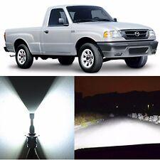 Alla Lighting Headlight 9007 High Low Beam LED Bulbs for Mazda B2300 B4000 B2500