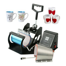 2 in 1 Coffee Mug Sublimation Heat Press Transfer Machine Cup Printer 11oz 12oz