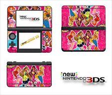 SKIN STICKER AUTOCOLLANT - NINTENDO NEW 3DS - REF 134 WINX