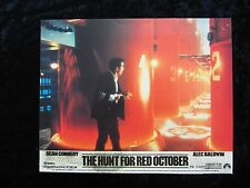 THE HUNT FOR RED OCTOBER lobby card #5  ALEC BALDWIN