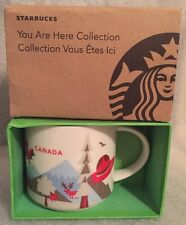 STARBUCKS CANADA You Are Here Mug Ceramic Box NEW!