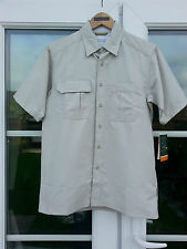 Royal Robins Coolmax Extreme Travel Hiking Short Sleeve Shirt Size S 36 Chest