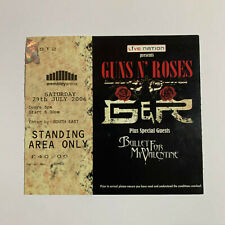 Guns N' Roses 29th July 2006 Wembley Arena concert Ticket Stub