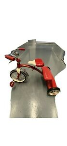 Vintage Retro Radio Flyer Red Tricycle Spoke Wheels Steel Frame