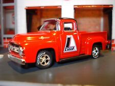"""1956 56 FORD F-100 WORK TRUCK LIMITED EDITION """"LAKEWOOD IND"""" 1/64 M2 COOL PICKUP"""