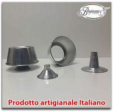 Stampo in alluminio per chiffon cake panettone o ciambellone americano + RICETTA