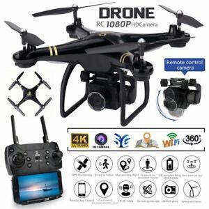 5G GPS WIFI Selfie FPV Drohne 4K 1080P Kamera RC Drone APP Quadcopter mit Tasche
