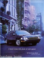 2000 BUICK PARK AVENUE advertisement, Park Avenue sedan