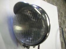 4.5 inch Bottom Mount Bates Style  Motorcycle Spotlight sidelight custom Chrome