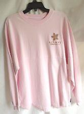 Disney Parks Aulani Resort Hawaii Pink Spirit Jersey Rose Gold Glitter Letters L