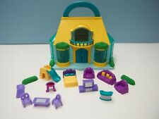Blue Box Toys Miniature Doll House, Furniture, Yellow Roof