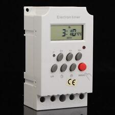 220V 25A Digital Programmateur Interrupteur Minuteur Temporisateur Commutateur