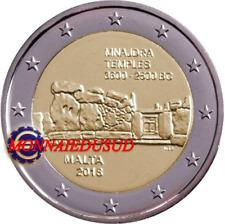 2 Euro Commémorative Malte 2018 - Temple de Mnajdra