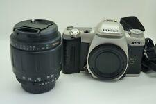 Spiegelreflexkamera Pentax MZ-50 mit Objektiv Tamron, Funktionsfähig