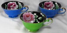 "Vintage ""OCCUPIED JAPAN"" MERIT china tea cups (three)"
