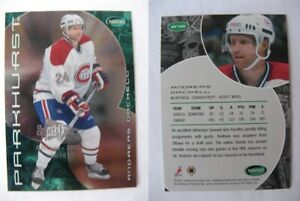 2001-02 Parkhurst #219 Andreas Dackell 05/10 sportsfest chicago 2002  canadiens