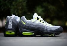 Mens – Nike Air Max '95 Cool GreyNeon Yellow Annuzine