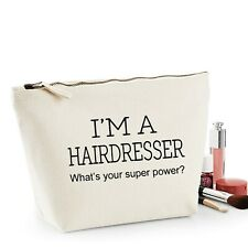 Hairdresser Thank You Gift Women's Make Up Accessory Bag Mothers Day