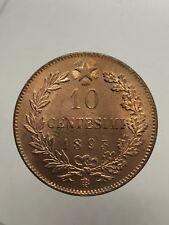 f9db08c8ab REGNO D'ITALIA UMBERTO I 10 centesimi 1893 Birmingham FDC ROSSO periziata