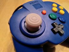 Hori Pad 64 Controller Blue for Nintendo N64 , Gamecube Style Analog Stick