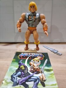 Mattel Masters of the Universe Origins Deluxe Battle Armor He-Man Figure loose
