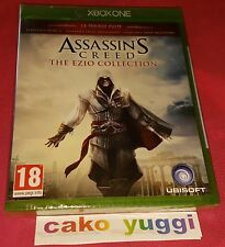 ASSASSIN'S CREED THE EZIO COLLECTION LA TRILOGIE CULTE JEU NEUF NEW XBOX ONE