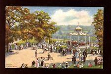 Wales Cardiff Roath Park artist drawn Tuck Oilette #7046 PPC used 1907