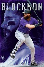 CHARLIE BLACKMON - COLORADO ROCKIES POSTER - 22x34 MLB BASEBALL 16394