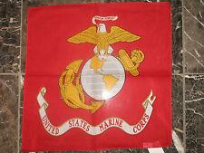 LOTE 12 ( 1 dozen ) 55.9cmx55.9cm USMC Marine Ejército EGA CLARO Globe BANDANA