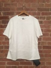 Jil Sander Men's Tee, Folded Cotton/Poly, Sz Medium Italy