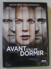 DVD AVANT D'ALLER DORMIR - Colin FIRTH / Nicole KIDMAN / Mark STRONG